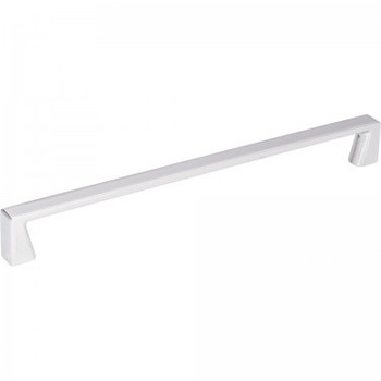 """Jeffrey Alexander, Boswell, 8 13/16"""" (224mm) Straight Pull, Polished Chrome"""