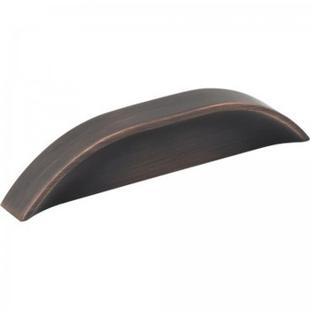 "Jeffrey Alexander, Elara, 3"" and 3 3/4"" (96mm) Straight pull, Brushed Oil Rubbed Bronze"