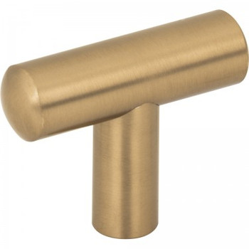 "Jeffrey Alexander, Key West, 1 7/8"" Length Pull Knob, Satin Bronze"