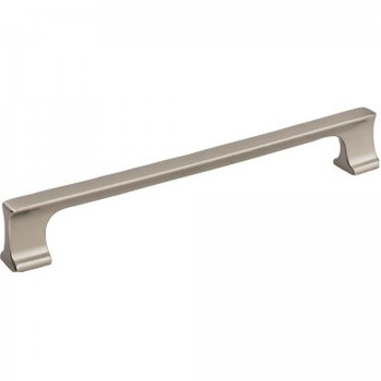 "Jeffrey Alexander, Sullivan, 7 9/16"" (192mm) Straight Pull, Satin Nickel"