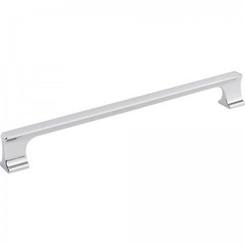 "Jeffrey Alexander, Sullivan, 8 13/16"" (224mm) Straight Pull, Polished Chrome"