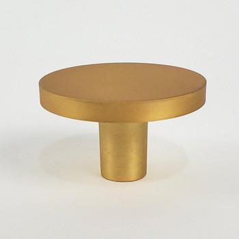 """Century, Round, 1 5/8"""" Round Knob, Brushed Gold"""