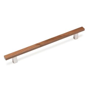 "Century, Wood, 6 5/16"" (160mm) Bar Pull, Walnut"