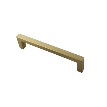 "Century, Kai, 5 1/16"" (128mm) Square End Straight Pull, Brushed Brass"