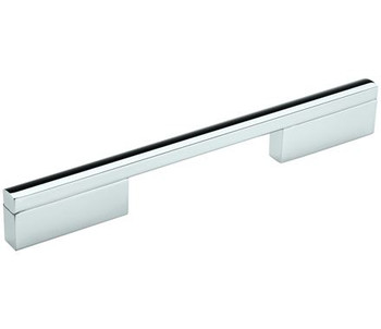 "Amerock, Separa, 6 5/16"" (160mm) Straight Pull, Polished Chrome"