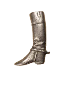 Anne at Home, Riding Boot, Left