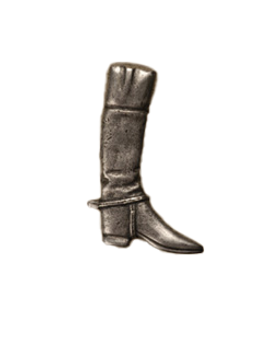Anne at Home, Riding Boot, Large Right