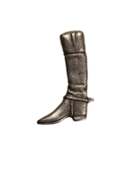 Anne at Home, Riding Boot, Large Left