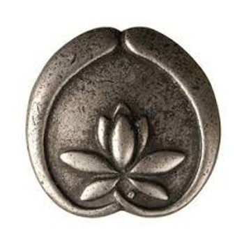 """Anne at Home, Asian Lotus Flower Knob 1 1/4"""""""