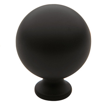"Baldwin, Spherical, 1 1/4"" Round Knob, Oil Rubbed Bronze"