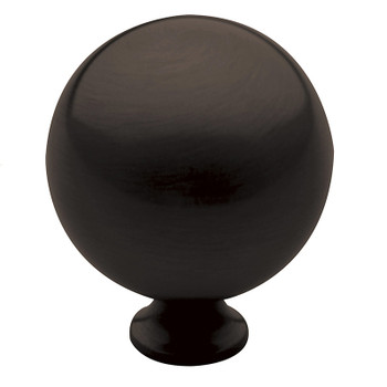 "Baldwin, Spherical, 1 1/2"" Round Knob, Oil Rubbed Bronze"