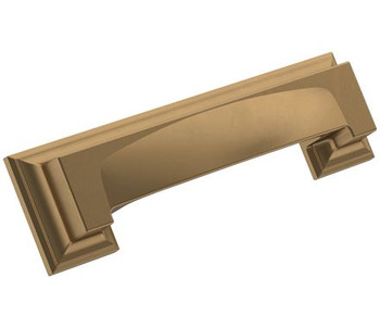 "Amerock, Appoint, 3"" and 3 3/4"" (96mm) Cup Pull, Champagne Bronze"