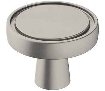 "Amerock, Destine, 1 3/8"" Round Knob, Satin Nickel"