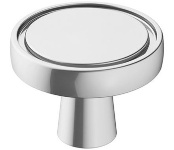 "Amerock, Destine, 1 3/8"" Round Knob, Polished Chrome"