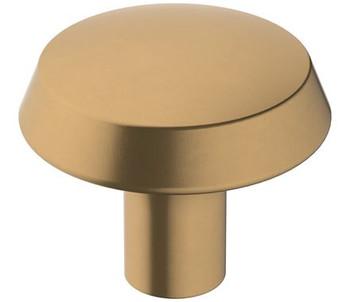 "Amerock, Premise, 1 1/4"" Round Knob, Champagne Bronze"