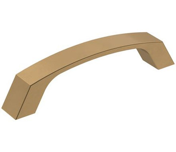 "Amerock, Premise, 3 3/4"" (96mm) Curved Pull, Champagne Bronze"