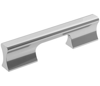 "Amerock, Status, 3 3/4"" (96mm) Straight Pull, Polished Chrome"