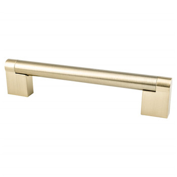 "Berenson, Contemporary Advantage Three, 5 1/16"" (128mm) Straight Pull, Champagne"