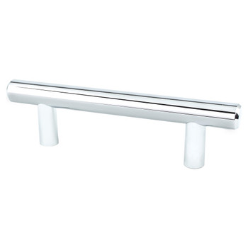 "Berenson, Transitional Advantage Two, 3"" Bar Pull, Polished Chrome"