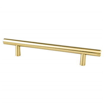 "Berenson, Tempo, 5 1/16"" (128mm) Bar Pull, Modern Brushed Gold"
