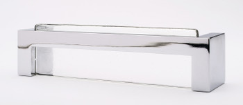 "Sietto, Skyline, 5 3/8"" Straight Pull, Clear with Polished Chrome Base"