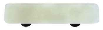 "Aquila Art Glass, Solids, 3"" Straight Pull, Driftwood Gray"