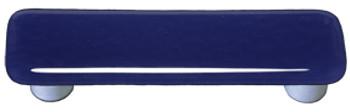 "Aquila Art Glass, Solids, 3"" Straight Pull, Indigo Blue"
