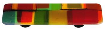 "Aquila Art Glass, Mosaic, 3"" Straight Pull, Autumn"