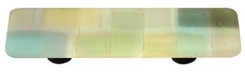 "Aquila Art Glass, Mosaic, 3"" Straight Pull, Winter"