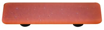 "Aquila Art Glass, Opaline, 3"" Straight Pull, Burnt Orange"