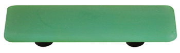 "Aquila Art Glass, Opaline, 3"" Straight Pull, Jade Green"