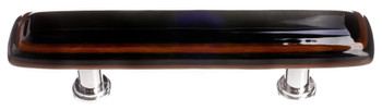 "Sietto, Reflective, Stratum, 5"" Straight Pull, Woodland Brown and Black"