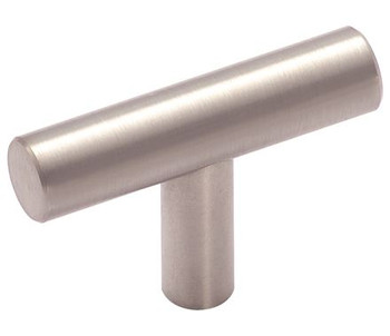 "Amerock, Bar Pulls, 1 15/16"" (49mm) Pull Knob, Stainless Steel"