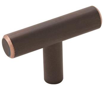 """Amerock, Bar Pulls, 1 15/16"""" (49mm) Pull knob, Oil Rubbed Bronze"""