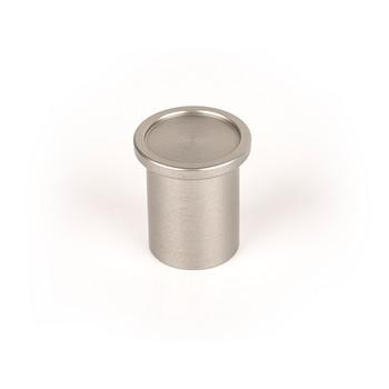 Century, Mid Century, 25mm Round Knob, Stainless Steel Look