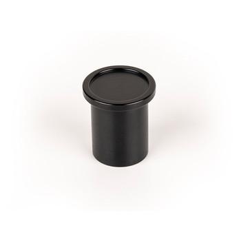 Century, Mid Century, 25mm Round Knob, Brushed Black