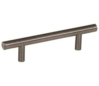 "Amerock, Bar Pulls, 3 3/4"" (96mm) Bar Pull, Gunmetal"