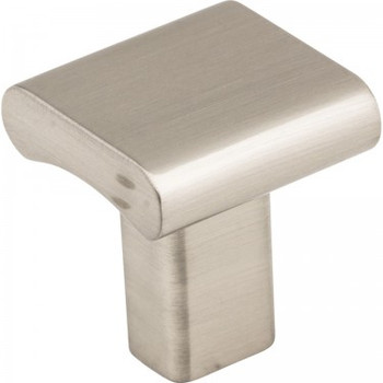 "Elements, Park, 1"" Knob, Satin Nickel"