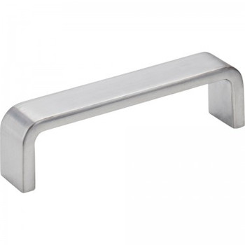 "Elements, Asher, 3 3/4"" (96mm) Center Pull, Brushed Chrome"