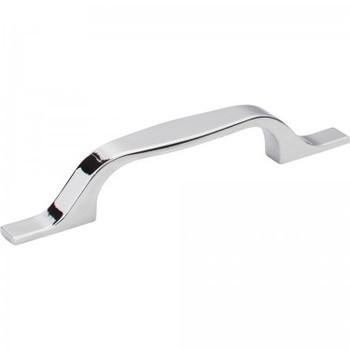 """Elements, Cosgrove, 3 3/4"""" (96mm) Straight Pull, Polished Chrome"""