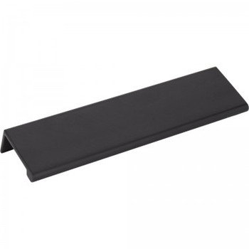 "Elements, Edgefield, 6"" Length 5"" Center Edge Pull, Matte Black"