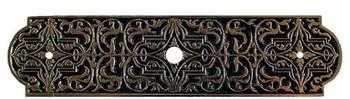 "Notting Hill, Classic, Renaissance, 3 7/8"" Knob Back Plate, Brite Brass"