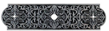 "Notting Hill, Classic, Renaissance, 3 7/8"" Knob Back Plate, Brilliant Pewter"