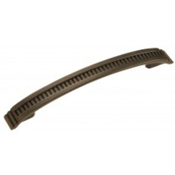 """Belwith Hickory, Sydney, 5 1/16"""" (128mm) Curved Pull, Vintage Bronze"""