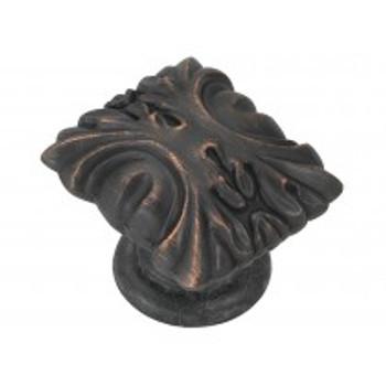 "Belwith Hickory, Ithica, 1 1/8"" Diameter knob, Vintage Bronze"