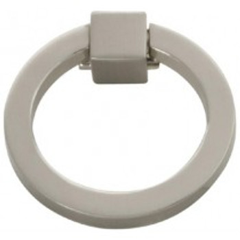 "Belwith Hickory, Camarilla, 2"" Ring Pull, Satin Nickel"