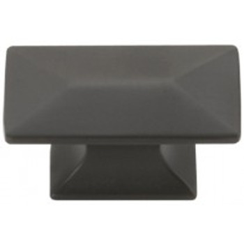 """Belwith Hickory, Bungalow, 1 3/4"""" Rectangle Knob, Oil Rubbed Bronze"""