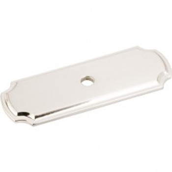 Jeffrey Alexander, Backplates, Knob backplate,  Satin Nickel