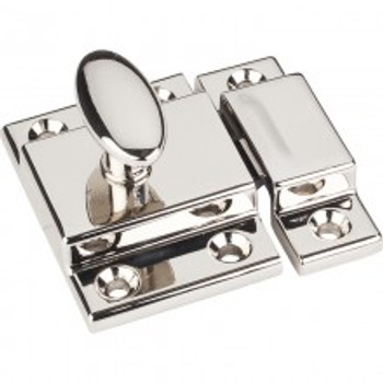 Jeffrey Alexander, Cupboard Latch,  Polished Nickel