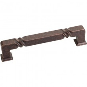 "Jeffrey Alexander, Tahoe, 5 1/16"" (128mm) Straight pull, Distressed Oil Rubbed Bronze"